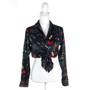 Ralph Lauren Horse Equestrian Button Up Shirt | S